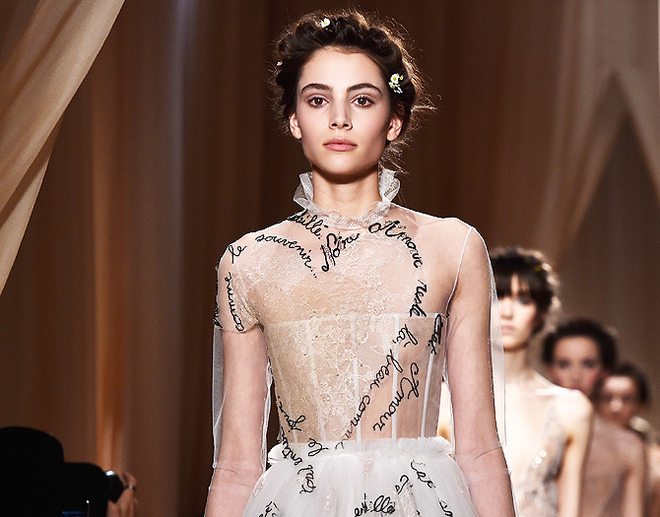 Valentino : Runway - Paris Fashion Week - Haute Couture S/S 2015